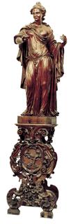 Allegoria Piloni giustizia